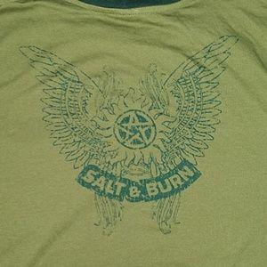 Other - Supernatural T Shirt Salt and Burn XL